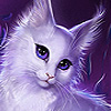 Beautiful fantastic cat puzzle