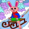 Christmas Bunny - Rossy Coloring Games