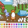 Color Games - Egg Hunt Dinosaurs