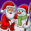 Color the Santa