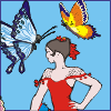 Dancer With Butterflies Pictures - Image