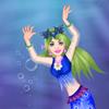 Floral Mermaid Queen