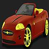 Hot flash car coloring