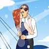 Kiss in Titanic