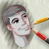 Lets Draw Something - Boy Face