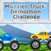 Monster Truck Demolition Challenge