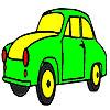 Original classic car coloring