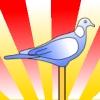 Pigeon on a Stick
