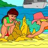 Summer holiday - Rossy Coloring Games
