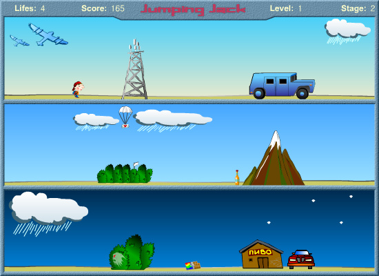 Jumping Jack Screenshot 1